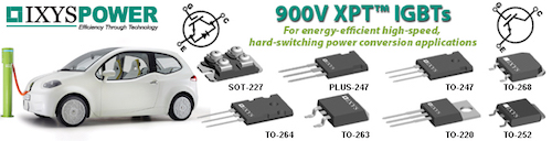 IXYS 900V XPT IGBTs by GD Rectifiers