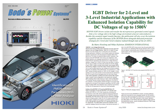 Bodo's Power Systems Magazine July 2020 by GD Rectifiers