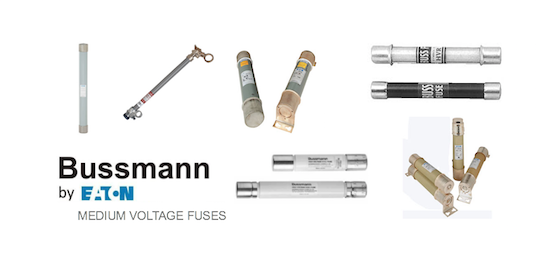 Bussmann's Medium Voltage Fuses by GD Rectifiers