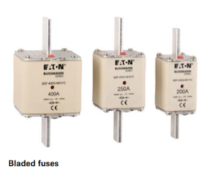 Bussmann NH Battery Storage Bladed Fuse Links by GD Rectifiers