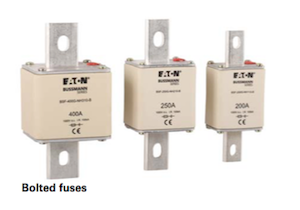 Bussmann NH Battery Storage Bolted Fuse Links by GD Rectifiers