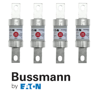 Bussmann's Industrial Red Spot Fuses by GD Rectifiers