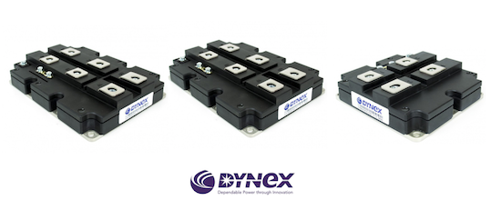 Dynex High Power IGBTs and FRD Modules