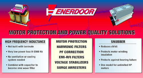 Enerdoor's Motor Protection Series by GD Rectifiers