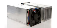 Forced Air Cooled Heatsinks by GD Rectifiers