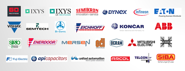 GD Rectifiers Distributor Brands