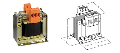 Meth T1B Single-Phase Transformers by GD Rectifiers