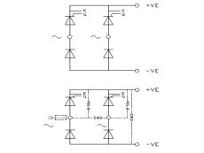 Single Phase Half Controlled Bridge Rectifier B2HK by GD Rectifiers