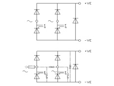 Single Phase Half Controlled Bridge Rectifier B2HAF by GD Rectifiers